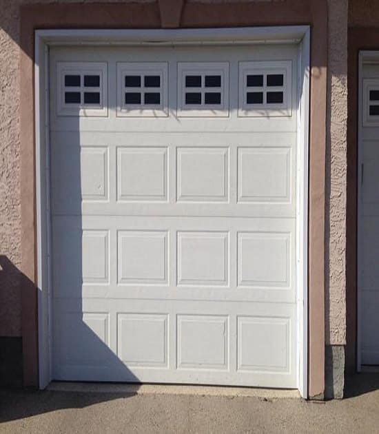 single garage doors windows